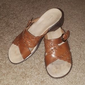 Clark's Women Slip On Sandals